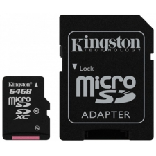 Micro SD 64GB met adapter
