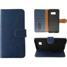 Samsung Galaxy S8 Plus Hoesje Blauw ECHT LEER