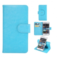 Sony Xperia C5 Ultra Hoesje Budget Blauw XXXL