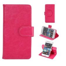 Huawei P8 Lite Smart Hoesje Budget Roze XL