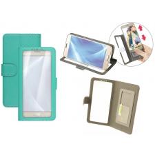 Huawei P10 Bookcase Doorzichtig Groen XL