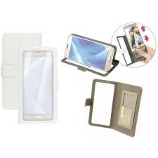 Huawei P8 Lite Smart Hoesje Doorzichtig Wit XL