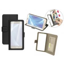 Nokia E1 Hoesje Doorzichtig Zwart XL