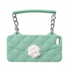 BYBI Flower Handbag Mint iPhone 4