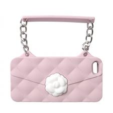 BYBI Flower Handbag Pink iPhone 4