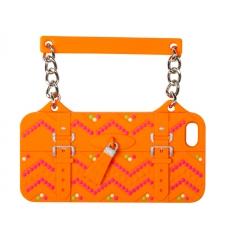 BYBI Ibiza Handbag Orange iPhone 4