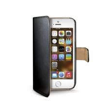 iPhone 5/5S/SE Boek Hoesje Zwart