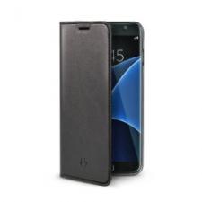 Celly Case Air PU Galaxy S7 Edge Black