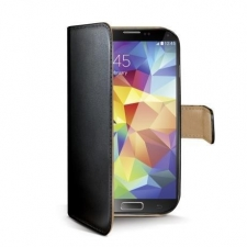 Celly Case Wally PU Galaxy S5 Black