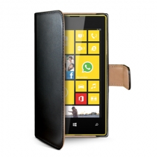 Celly Case Wally PU Lumia 530 Black