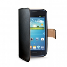 Celly Case Wally PU Samsung Galaxy Core Plus Black