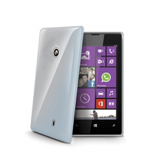 Celly Cover Gelskin Lumia 520 Transparant