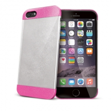 Celly Cover Glamme Glitter iPhone 6 Plus Fuchsia