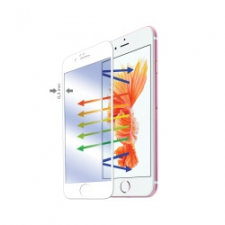 Celly Screenprotector Full Glass iPhone 6/6S White