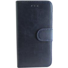 iPhone 7/8 hoesje boekmodel 100% Leer Donker Blauw