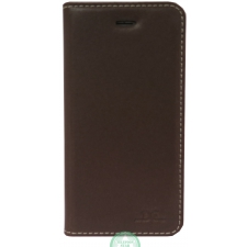 iPhone 7/8 hoesje boekmodel 100% Leer Donker Bruin