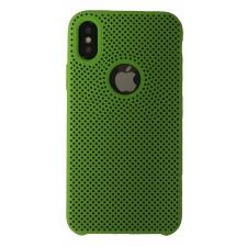 iPhone X Rubberen achterkant Hoesje in Groen