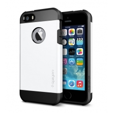 Apple iPhone 5s Armor Bescherming Hoesje Wit