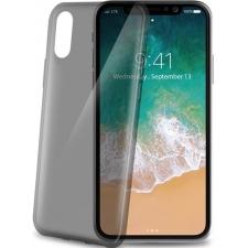 iPhone X hoesje zacht siliconen Grijs Transparant