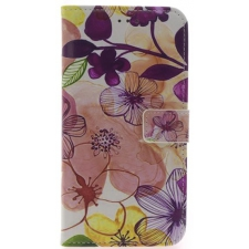 iPhone 7/8 Plus Bloemen Print booktype hoesje