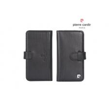 iPhone 7 Book case Echt leer Zwart luxe editie
