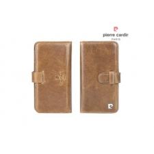 iPhone 7 Book case Echt leer Bruin luxe editie