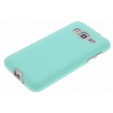 Samsung Galaxy J3 2016 Premium Bumper Hoesje Turquoise