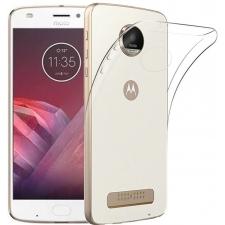 Motorola Moto Z2 Play Siliconen hoesje Transparant