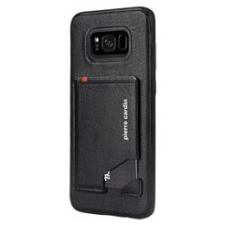 Samsung Galaxy S8 Plus Origineel Luxe Back Cover Pas 100% Leer Zwart