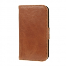 Valenta Booklet Classic Luxe Brown iPhone 4/4S