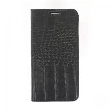 Valenta Booklet Classic Style Croco Black Galaxy S6 Edge