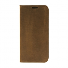 Valenta Booklet Classic Style Vintage Brown Galaxy S7