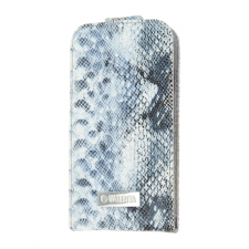 Valenta Flip Animal Snake Blue Galaxy S4
