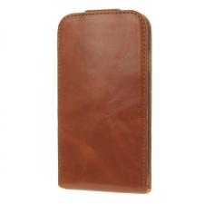 Valenta Flip Classic Luxe Brown Galaxy S4