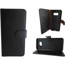 Samsung Galaxy S8 Plus Hoesje Zwart ECHT LEER