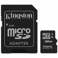 Micro SD 32GB met adapter