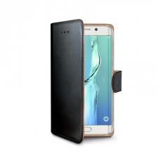 Samsung S6 Edge Plus Boek Hoesje Zwart