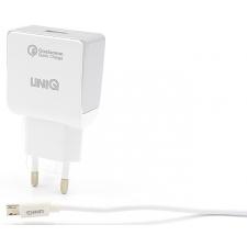 Micro-USB oplader 1 meter lang snoer in Wit